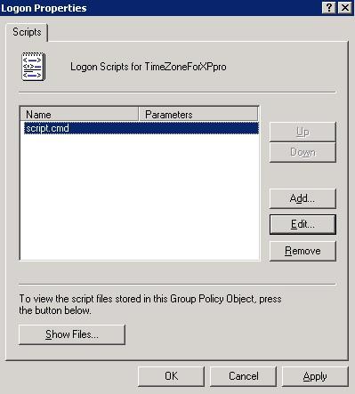 Смена часового пояса в Windows XP скрипт и групповые политики