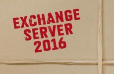 Встречаем релиз Microsoft Exchange Server 2016.
